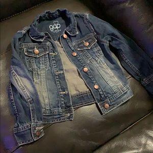 Gap Kids denim jacket xs /size 5